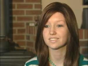 Meghan Redenbach is an 8th grader who is battling a rare form of ovarian cancer