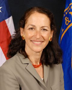 Margaret Hamburg, M.D., Comissioner of Food & Drugs, U.S. Food & Drug Administration