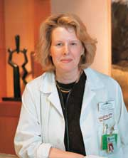 Ursula Matulonis, M.D., Medical Director, Gynecologic Oncology, Dana-Farber Cancer Institute